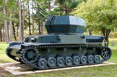 Flakpanzer вихрем, Sd.Kfz. 161/4, Selbstfahrlafette, артиллерия, танки, Вермахт