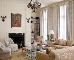 Design by Carole Weaks   Photography by Emily Followill   Atlanta Homes & Lifestyles  