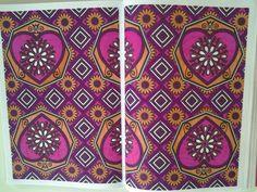 Pages 45&46 - mon octobre rose :-) - #hachetteloisirs #arttherapie