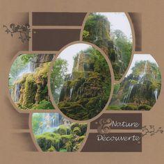 Rien à voir avec le magasin mais le titre collait très bien à mes photos : la cascade du jardin à papillons de Digne-les-Bains (04), surtout que je voulais utilisée mes nouveaux dies Esperluette de chez Simply Graphic ! La mise en page est réalisée avec...