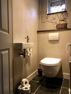 small bathroom storage ideas is extremely important for your home. Whether you pick the bathroom demolition or dyi bathroom remodel, you will make the best minor bathroom remodel for your own life. Small Toilet Room, New Toilet, Small Bathroom, Bathroom Layout, Wc Bathroom, Bathroom Storage, Bad Inspiration, Bathroom Inspiration, Dyi Bathroom Remodel