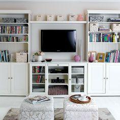 Guest room/office organization