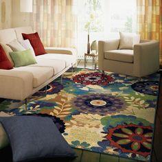 Orian Mardis Gras Country & Floral Area Rug Collection
