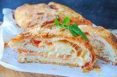 Rotolo parigina ripieno ricetta sfiziosa napoletana vickyart arte in cucina