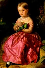 Princesa D.Carolina Josefa Leopoldina de Habsburgo-Lorena quando criança. Futura Imperatriz do Brasil.