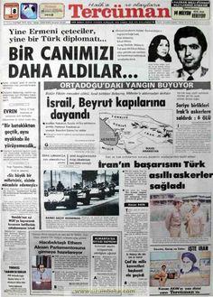 Tercüman gazetesi 8 haziran 1982