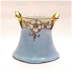 toothpick holder | Nippon Hand Painted China Toothpick Gold Gilt Handled. Click on the ...