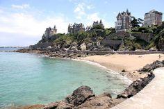 Dinard, ses plages et ses villas 19è