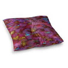 KESS InHouse Miranda Mol Luscious Blue Pink Fleece Baby Blanket 40 x 30