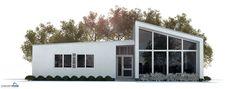 Small House Plan, three bedrooms, modern floor plan House Plan