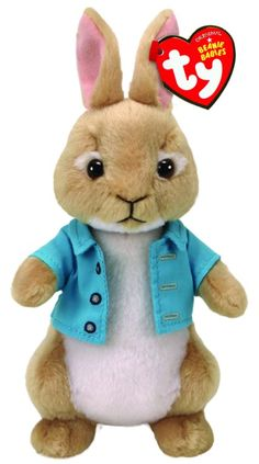 Buy TY Beanie Babies Peter Rabbit - Cottontail online or in store at Mr Toys. Browse our Ty Beanie Boos range at great prices. Beanie Babies, Ty Beanie Boos, Peter Hase Film, Peter Rabbit Cottontail, Disney Frozen, Pet Toys, Baby Toys, Peter Rabbit Movie, Toy Collector