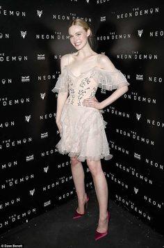 Elle Fanning - Alexander McQueen