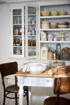 Vintage Kitchen Newly Renovated ~ Interiors and Design Less Ordinary