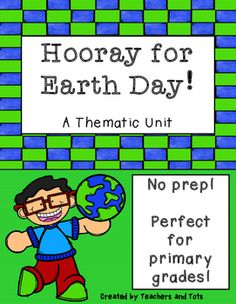 This Earth Day thematic mini-unit is prefect for primary grades and involves NO PREP!  Activities cover ELA, Writing and Math skills and I have also included 3 min-posters to use as teaching resources.  Please remember to leave FEEDBACK to earn TPT credits for YOU and check out my store at www.teacherspayteachers.com/store/teachers-and-tots for other products you might like!
