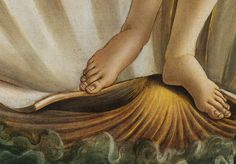So I'm not alone...The toes of Botticelli's Venus.