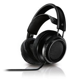 Philips Fidelio X2/00 HiFi-Kopfhörer (OverEar, 3 m Kabel) schwarz