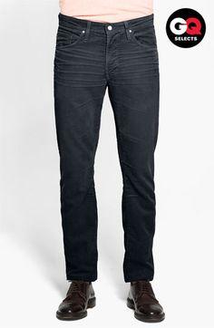 official photos 46327 0b67f AG Jeans Straight Leg Corduroy Pants Nordstrom GQSelects Кэжуал Для  Мужчин, Деловые Повседневные