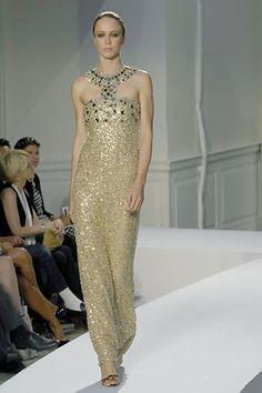 Oscar de la Renta Spring 2008 Ready-to-Wear Fashion Show - Raquel Zimmermann