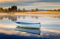 """""""Loch Rusky, Autumn starts..."""" by David Mould, via 500px."""