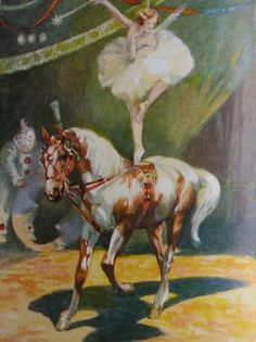 Circus Horses, Come And See, Wonderful Horses www.horse Circus Show Horses Circus Aesthetic, Vintage Circus Posters, Dom Quixote, Horse Posters, Art Posters, Animal Art Prints, Mermaid Pictures, Horse Names, Circus Art