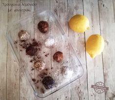 Τρουφάκια λεμονιού με φουντούκι - Dairy-Free