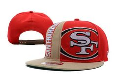 Top NFL San Francisco 49ers Red Snapback Hat On Sale