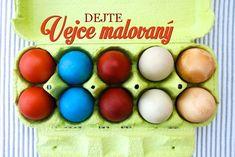 Prirodni barveni vajicek Easter Eggs, Holidays, Food, Holidays Events, Holiday, Essen, Meals, Yemek, Eten