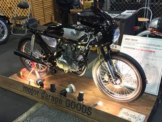"SKYTEAM ACE125 GOODS like custom car | SKYTEAM and SNAKEMOTORS custom hobby shop dealing with the custom bike of ""Arrows"""