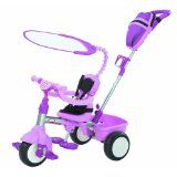 Little Tikes Trike w/ Deluxe Accessories - Pink Little ones can ride in comfort and style with the Trike with Deluxe Accessories! Now with padded seating and a portable storage bag, this trike is the perfect way for kids to learn to pedal! Drift Trike, Little Tikes, 4 In 1, The 4, Tricycle, Seat Belt Harness, Storage Buckets, Shade Canopy, Daughters