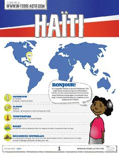 This image provides students with information on another French speaking country. Ap French, Core French, Learn French, Afrique Francophone, Pays Francophone, French Teaching Resources, Teaching French, Italian Language, French Language