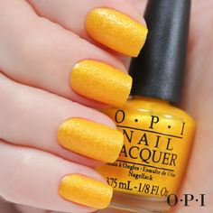 You're So Flippy Floppy | Liquid Sand | OPI Brazil collection