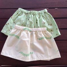 Size 2 Spring Bees & Doves Skirts by AnaSie