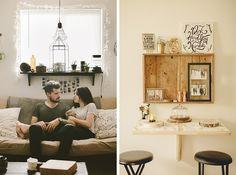 neutral living / home café for deux