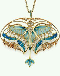 colgante Art nouveau