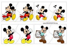 Ideia Criativa - Gi Barbosa Educação Infantil: Jogo Pares Mickey e Minnie