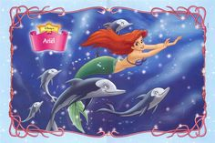 Ariel and dolphins