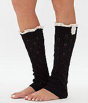 Daytrip Knit Legwarmer at buckle small size 5