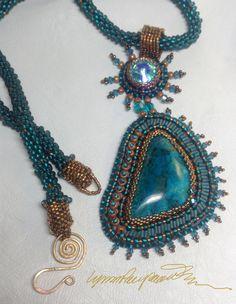 Mar Egeo creato da Lynn Parpard raro Bisbee di LynnParpard su Etsy, $310.00