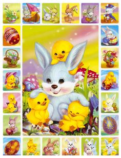 Dream Pictures, Easter Pictures, Easter Printables, Holidays And Events, Cool Artwork, Happy Easter, Hobbit, Mini Albums, Decoupage