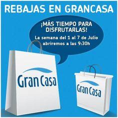 Rebajas de Julio también en GranCasa Zaragoza