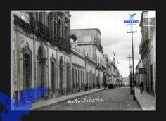 Av Centenario actualmente calle Juan de Montoro