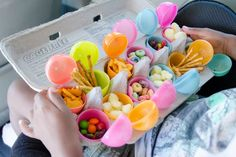 What a clever idea! 19 Travel Snack Hacks Every Parent Should Know