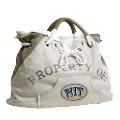 Pittsburgh Panthers NCAA Property Of Hoodie Tote