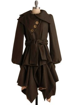 Imagined Adventures Coat, by Jolaby