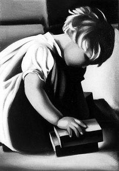Tamara de Lempicka (1898-1980)  The Blond Child, circa1938  Oil on canvas