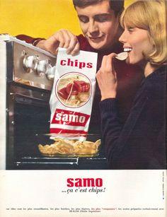 Chips Samo - Jours de France n°495, 9 mai 1964