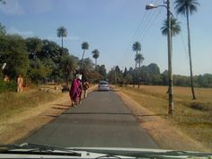 Road to Pachmarhi Hill Station - India