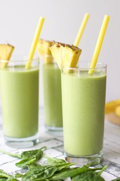 Coconut Tea Green Smoothie recipe. So healthy and refreshing. A delicious twist on your everyday green smoothie.