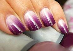 Dégradé violet.