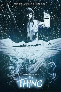 The Thing - movie poster - Tyler Champion
